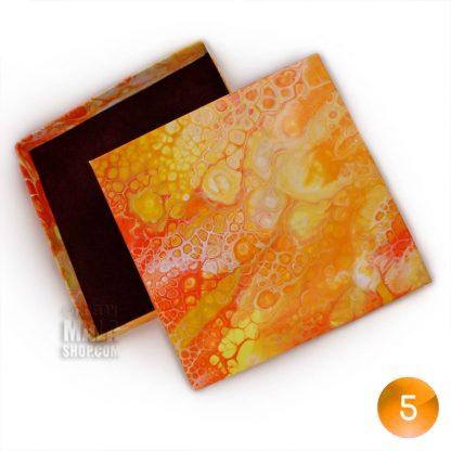 108 mala gift box tangerine 05