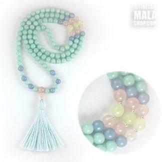 amazonite tassel necklace