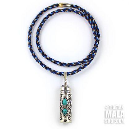 amulet prayer box necklace