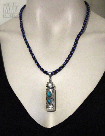 amulet prayer box necklace length