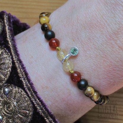 august charm bracelet