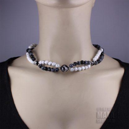balance choker necklace