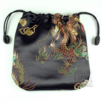 black dragon mala bag