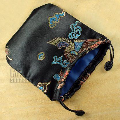 black phoenix mala beads bag