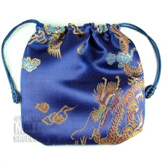 blue dragon mala bag