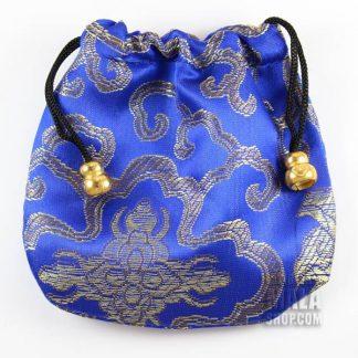 blue lotus mala bag