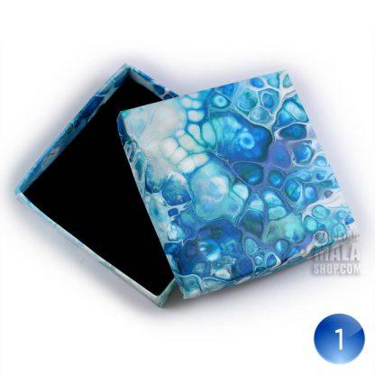 bracelet gift box blue white 01