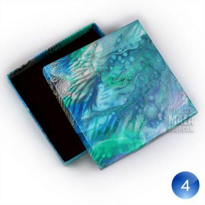 bracelet gift box blue white 04