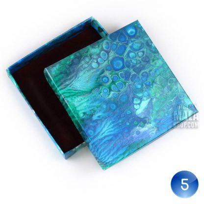 bracelet gift box blue white 05
