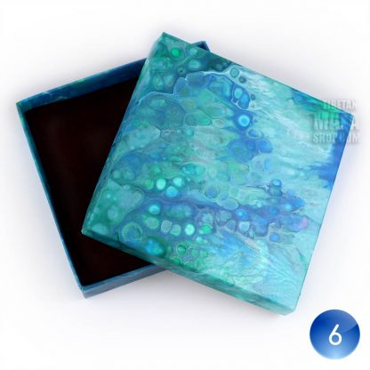 bracelet gift box blue white 06
