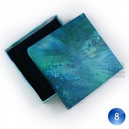 bracelet gift box blue white 08