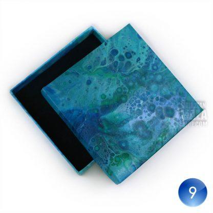 bracelet gift box blue white 09