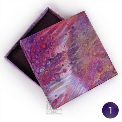 bracelet gift box purple 01
