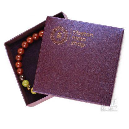 gift box purple tibetan mala shop