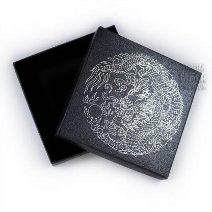 bracelet gift box silver dragon