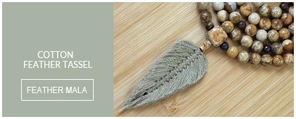 Feather Mala