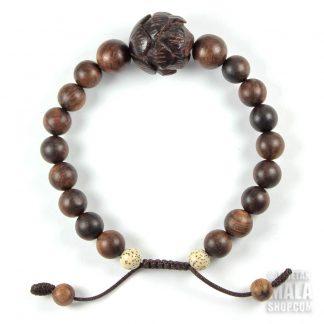 carved lotus bracelet