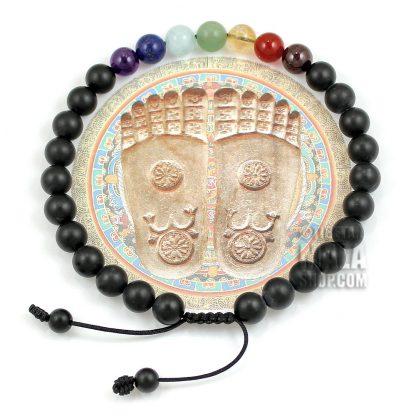 chakra ankle bracelet