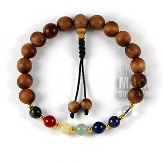 chakra mala bracelet