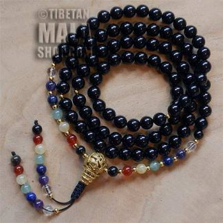 chakra mala beads
