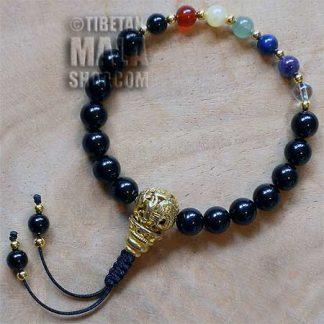 chakra wrist mala beads