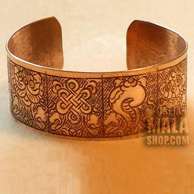 auspicious symbols bracelet