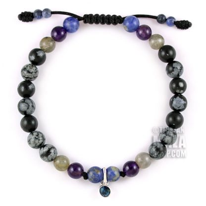 december birthstone charm bracelet