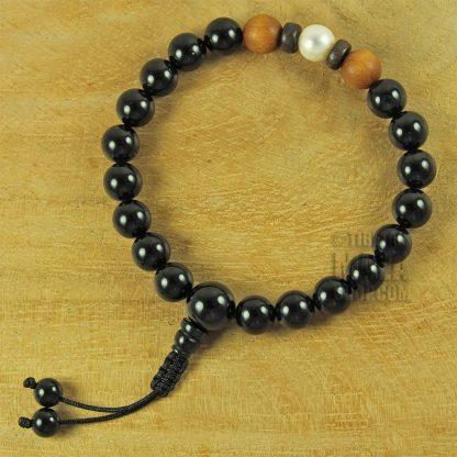 divine inspiration mala bracelet onyx