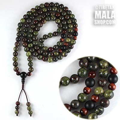 dragon blood jasper mala