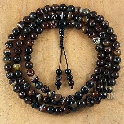 dzi mala beads