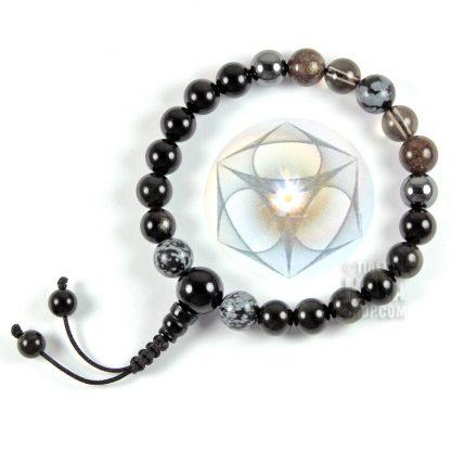 earth star chakra mala bracelet