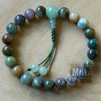 fancy jasper mala bracelet