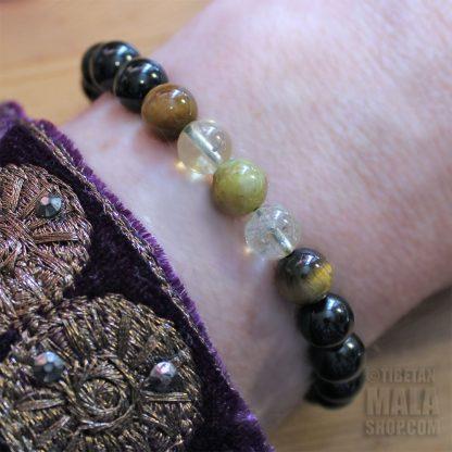 gemini bracelet beads