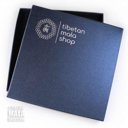 gift box blue tibetan mala shop