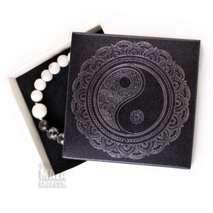 gift box yin yang mandala