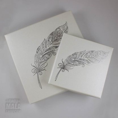 gift boxes feather
