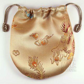 gold dragon mala bag