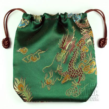 green dragon mala bag