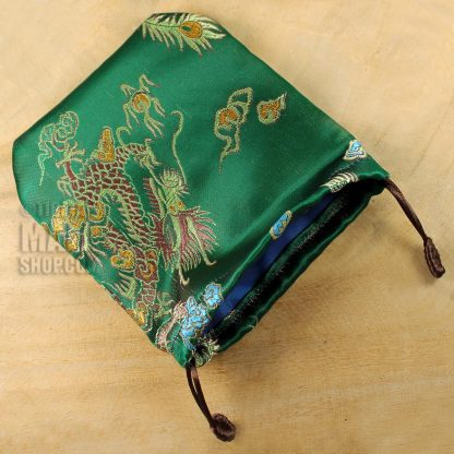 green dragon mala gift bag
