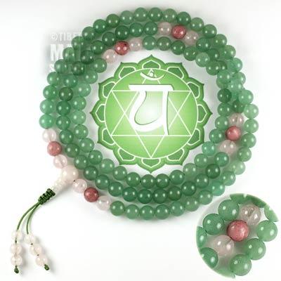 heart chakra mala