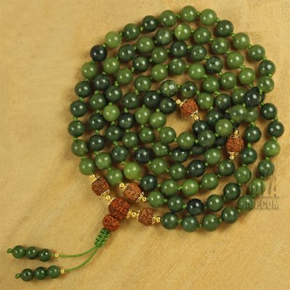 jade knotted mala