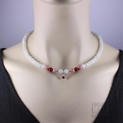 july birthstone choker necklace