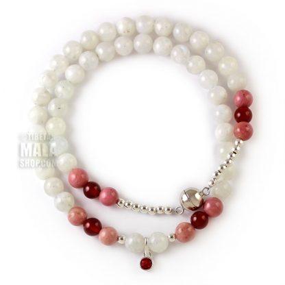 july birthstone wrap bracelet