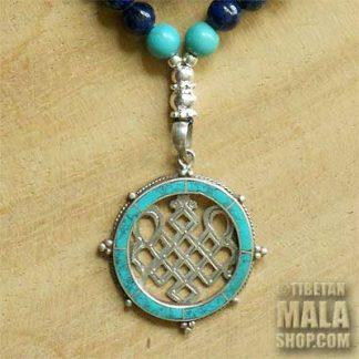 lapis lazuli yoga beads