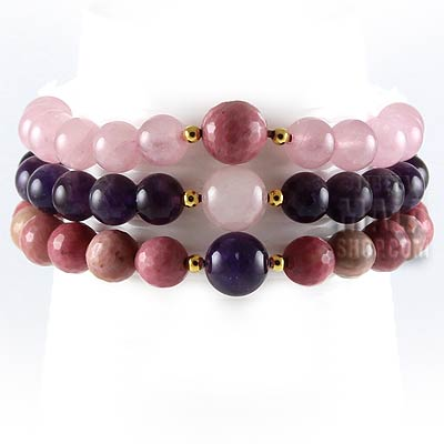 love stackable bracelets