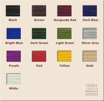 mala thread colours