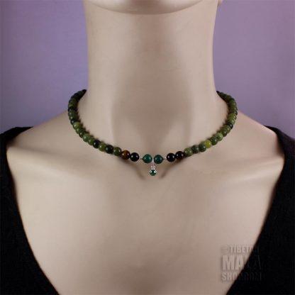 may birthstone choker necklace