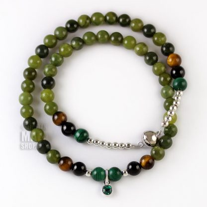 may birthstone wrap bracelet