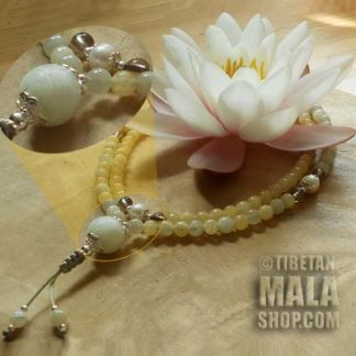 moonstone yoga beads