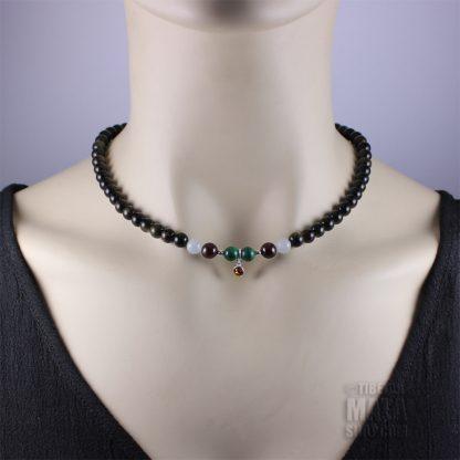 november birthstone choker necklace